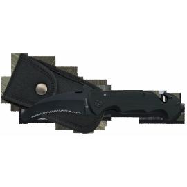 Navaja - SEGURIDAD. Negra.8.5cm
