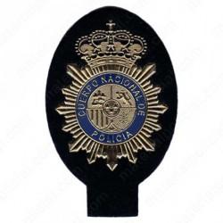 EMBLEMA ESCUDO POLICIA NACIONAL DORADO