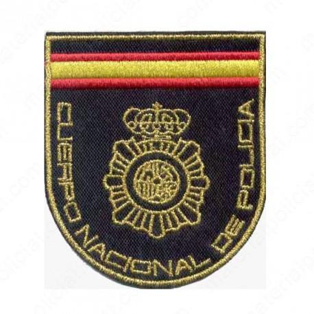 PARCHE BRAZO BORDADO POLICIA NACIONAL