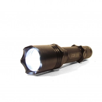 LINTERNA DE LED 70 90 XR E-LED 225 LUMENS OPCION 2 BAT( RECARGABLE Y LITIO) 145MM X 32MM