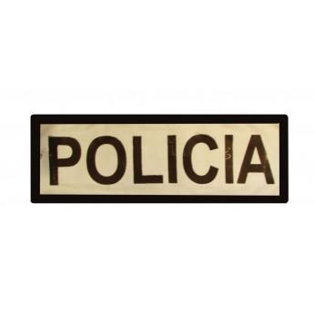 DISTINTIVO POLICIA REFLECTANTE