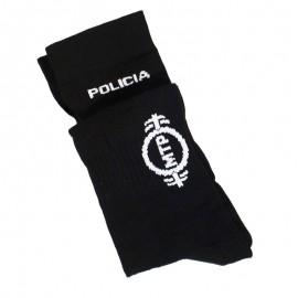CALCETIN COOLMAX BORDADO DE POLICIA TALLA P(37/39)