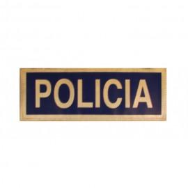 DISTINTIVO POLICIA VISIBILIDAD PEQUEÐO PARA MOCHILA