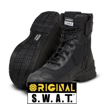 "BOTA ORIGINAL SWAT HAWK 9"" CREMALLERA LATERAL WP"