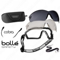 GAFAS BALISTICAS BOLLÉ Safety KIT COBRA 2 LENTES
